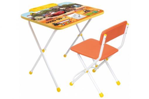 Комплект Disney 3 - Тачки Стол с подножкой+пенал+стул