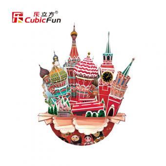3D пазл Городской пейзаж - Москва