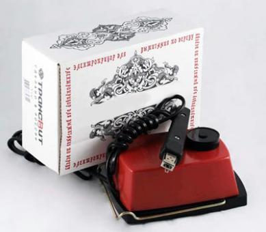 Прибор для выжигания по дереву и по ткани Узор-1 ( сгильошированием)