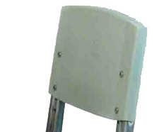 Спинка для стула Дэми, серый пластик