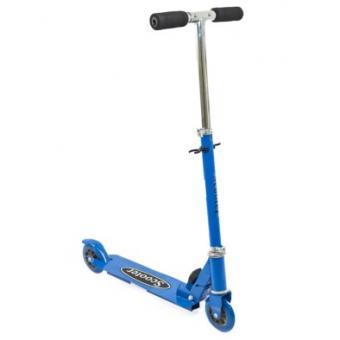 Игрушка детская самокат 2-х колесный синий