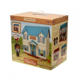 Village Story Домик с голубой крышей