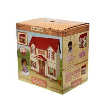 Village Story Домик с красной крышей