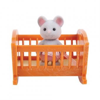 Набор Малыш мышонок с кроваткой