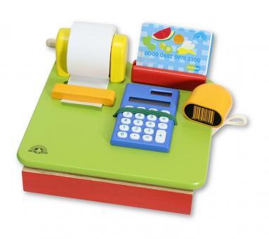 Касса с бумажной лентой и калькулятором
