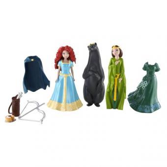 Набор Deluxe с мини-куклой Disney Мерида (Храбрая сердцем)