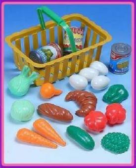 Набор овощей в корзине