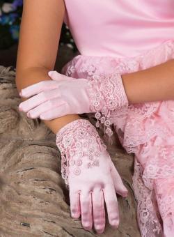 Перчатки для девочек 10-12