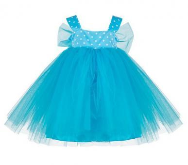 Платье для девочек голубой