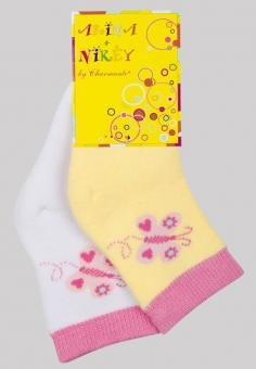Носки для малышей махровые