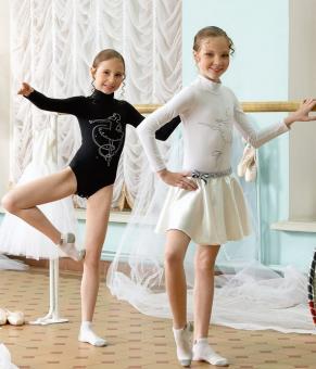 Боди для девочек белое