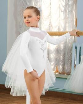 Купальник спортивный (боди) для девочек 104-110