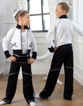 Костюм спортивный для девочек 104-110