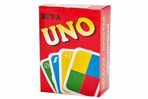 Карты игральные UNO  (Не оригинал UaNdO)  (Задира)