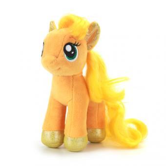 Мягкая игрушка пони Эпплджек со звуком  18 см