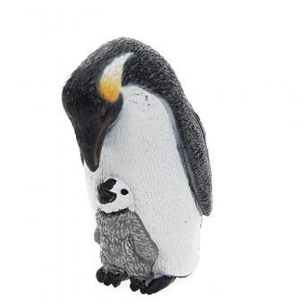 Фигурка Императорский пингвин с птенцом