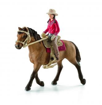 Фигурка Всадник с лошадью