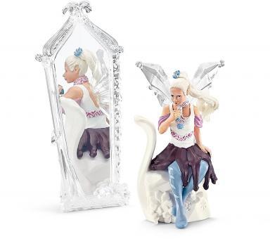 Фигурка Ледяной Эльфийка Кризея с зеркалом