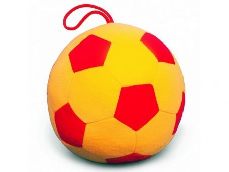 Мякиши Мяч Футбол большой.Люкс с погремушкой