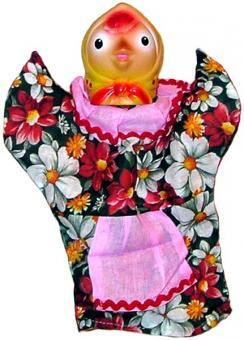 Кукла-перчатка Курочка ряба