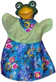 Кукла-перчатка Лягушка