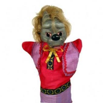 Кукла-перчатка Волк