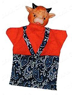 Кукла-перчатка Бычок