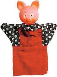 Кукла-перчатка Хрюша