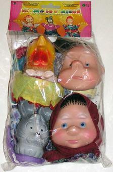 Кукольный театр пакет Курочка ряба