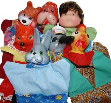 Кукольный театр Жили-были... со шторкой (7 перс)