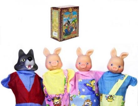 Кукольный театр мал.Три Поросенка