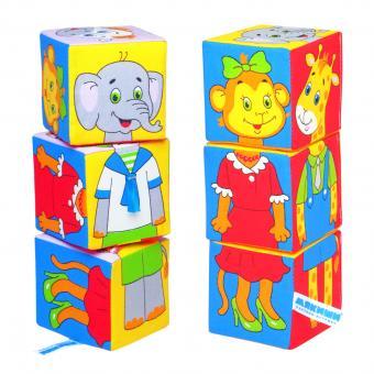 Мякиши-кубики Собираем по одежке
