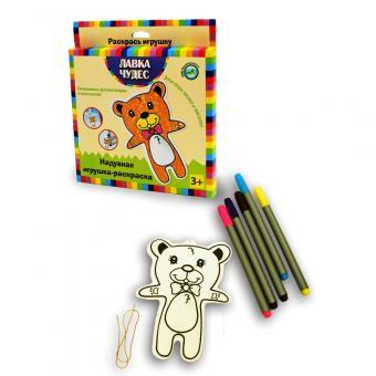 Набор для раскрашивания надувной игрушки Медвежонок (текстиль)