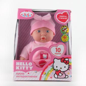 Пупс 24см. Hello Kitty с твердым телом, озвученный,  одежда в асс-те.