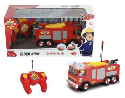 Пожарный Сэм, Пожарная машина на радиоуправлении, 2х кан., свет, 1:24
