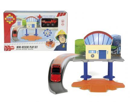 Пожарный Сэм, Маленький морской гараж+1 машинка