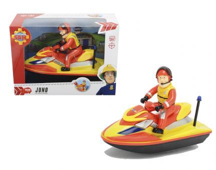Пожарный Сэм, Водный скутер на батарейках, 22 см