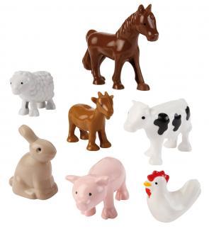 Набор животных Ферма, 7 предметов
