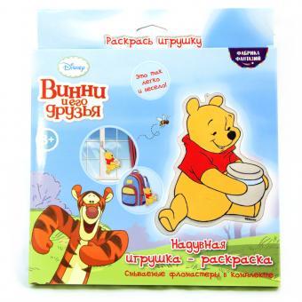 Набор для раскрашивания надувной игрушки Винни Пух (Дисней) текстиль