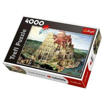 Пазл 4000   Вавилонская башня