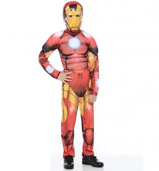 Карнавальный костюм Железный человек Мстители (комбинезон, маска) р-р.34