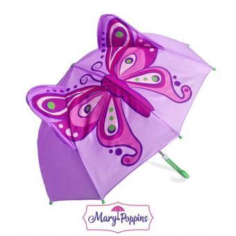 Зонт детский Бабочка 46 см