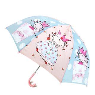 Зонт детский Смешная принцесса 46см