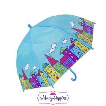 Зонт детский Домики 46 см