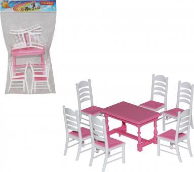 Набор мебели для кукол №6 7 элементов