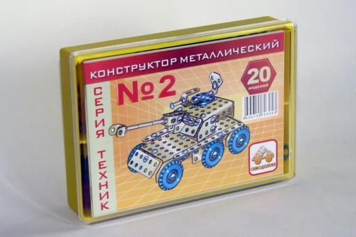 Конструктор цветной Т№2 20 моделей
