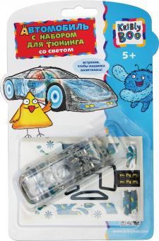 Автомобиль с набором для тюнинга со светом