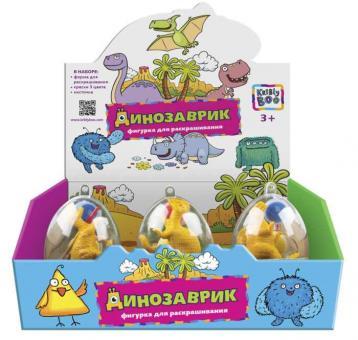 Набор для раскрашивания Динозавр в яйце в асс-те