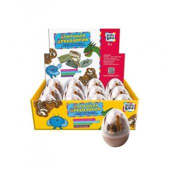 Набор для создания раскопок Динозавр в яйце, 6 видов
