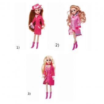 Кукла Мария 29 см, яркая осень, с аксессуарами в ассорт